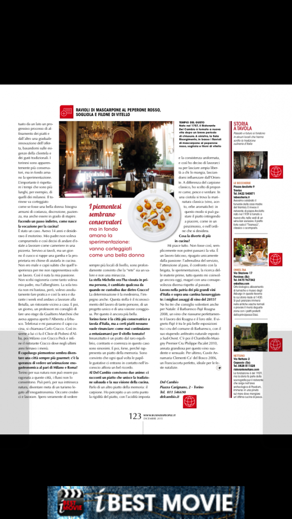 business people matteo baronetto pag 123 dicembre 2015