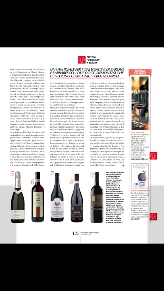 business people gennaio 2016 quel dolce pungente nebbiolo pag 125