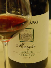 Nebbiolo Marghe Langhe Doc 2015